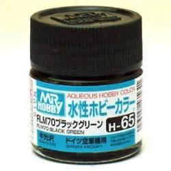 Mr Acrysion Water Based N2 Black Mr Hobby mr hobby gsi h65 rlm 70 black green semi gloss 10ml gunze aqueous hobby color acrylic paint