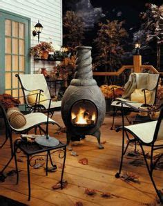 chiminea on deck beautiful patio with chiminea although it really shouldn