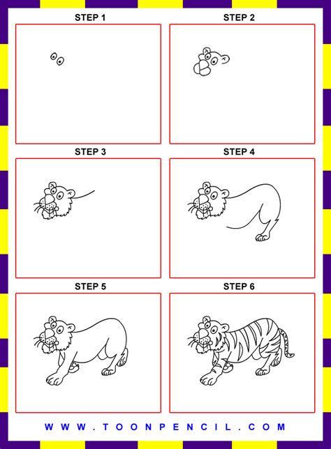 how to draw a realistic step by step how to draw a realistic baby tiger step by step