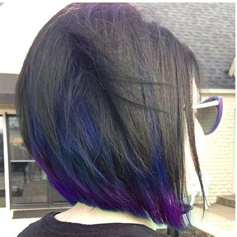 hairstyle with dark color underneath best 20 purple underneath hair ideas on pinterest dyed