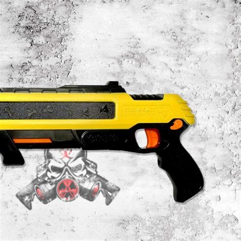 Bug A Salt 2 0 Pistol Pembasmi Serangga bug a salt 2 0 yellow salt shotgun for killing bugs