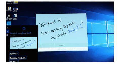 windows 10 release tutorial microsoft confirms windows 10 anniversary update release date
