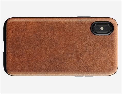 Nomad Wallet For Iphone X nomad rugged leather iphone x 187 gadget flow