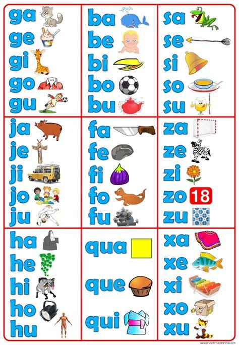 imagenes educativas trabadas silabarios en gran formato 2 imagenes educativas