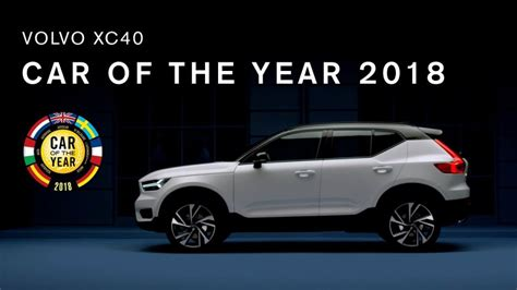 volvo truck of the year volvo xc40 pakt auto van het jaar 2018 prijs leaseaholic