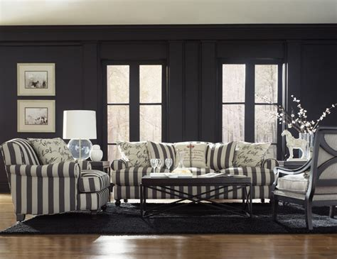 black and white striped couch quincy sofa group contemporary sectional sofas san