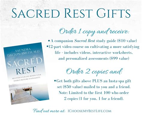 sacred rest recover your renew your energy restore your sanity books sacred rest dr dalton smith i choose my best