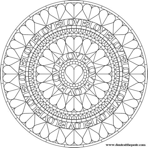 mandalas stained glass coloring book pdf mandala mandala coloring pages pattern