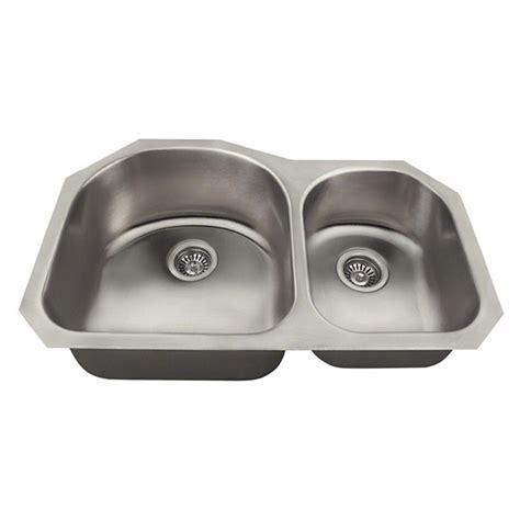 undermount kitchen sinks for 33 cabinet polaris sinks undermount stainless steel 31 in double
