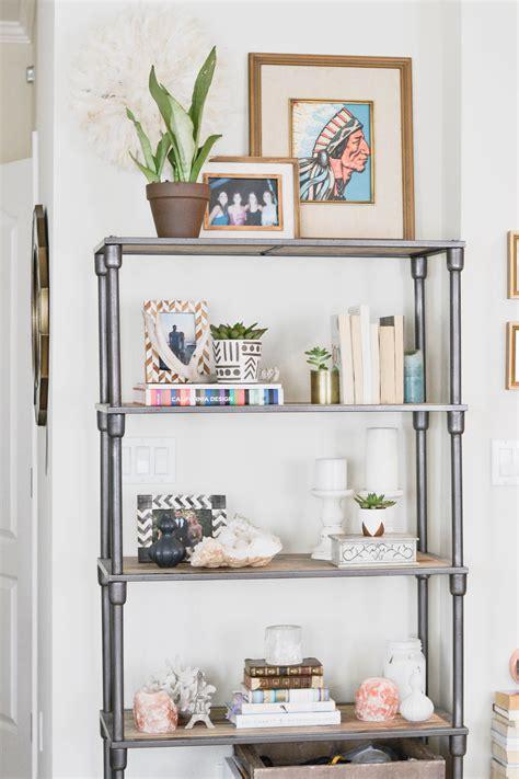 apartment refresh bookshelf styling haxcom