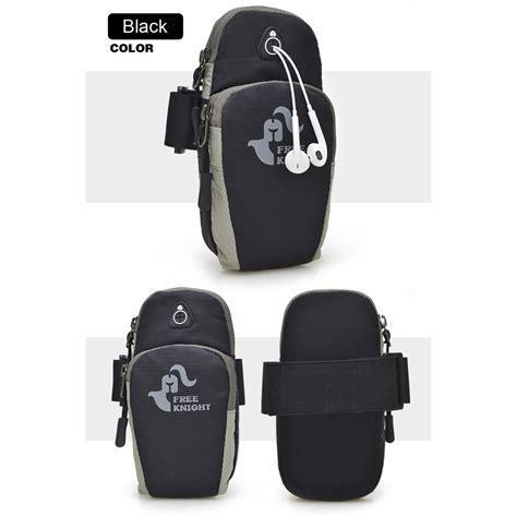 Tas Armband Lari Dengan Lubang Earphone tas armband lari dengan lubang earphone black jakartanotebook