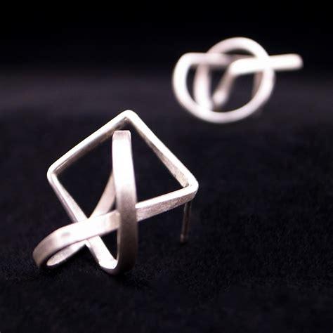 Knot Stud Earring knot stud earrings contemporary earrings by contemporary