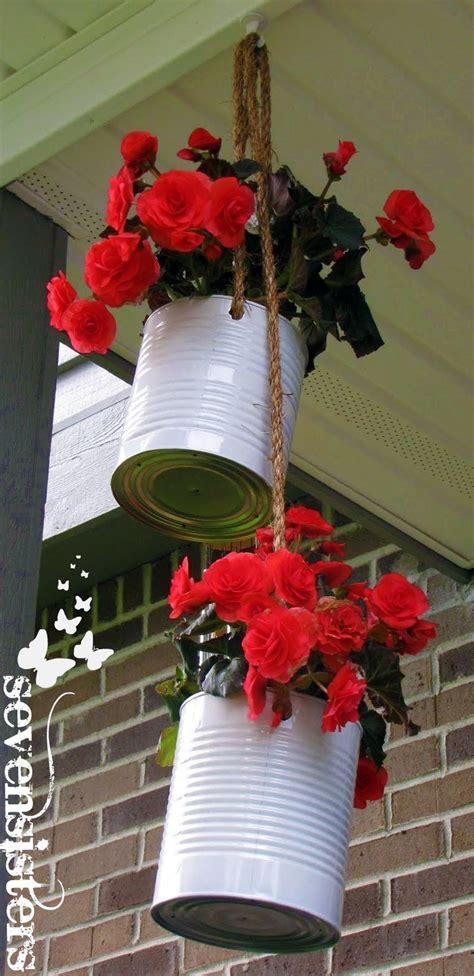 hanging planters diy seven sisters diy hanging planters diy pinterest