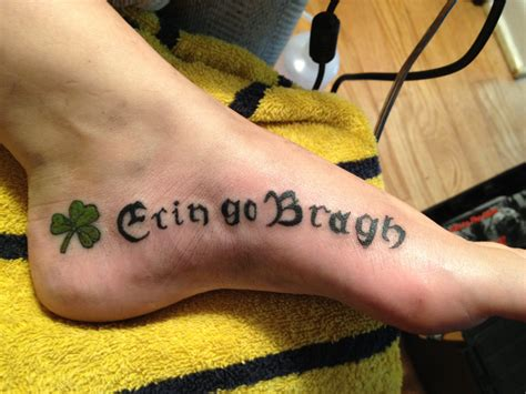 irish tattoo by captainjak on deviantart