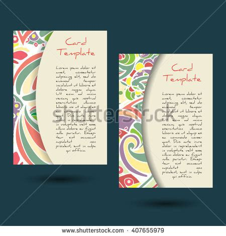 recipe card template boho stock images royalty free images vectors
