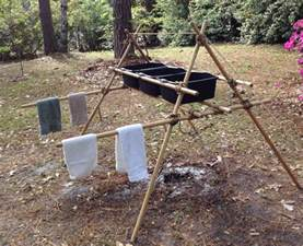 Wash Basin Stand by Scout Stave Dish Washing Rack Scout Pioneering