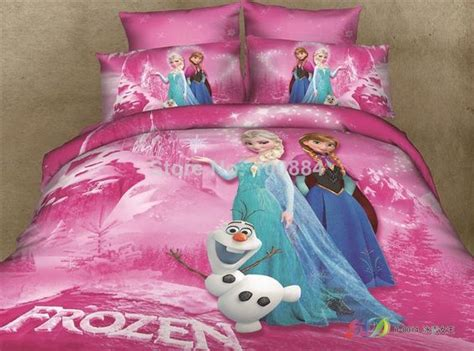 elsa bed 3d cartoon frozen bedding princess elsa anna olaf frozen duvet quilt cover queen