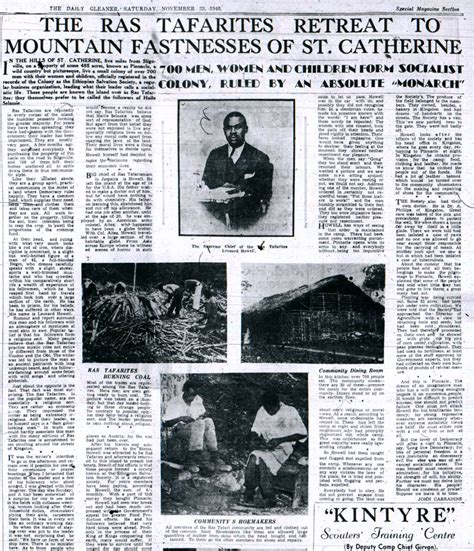 daily news classified section the true story of rastafari by lucy mckeon nyr daily