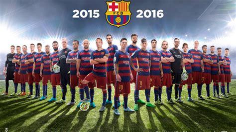 barcelona team wallpaper free download 2048x1152 fc barcelona team 2016 2048x1152 resolution hd