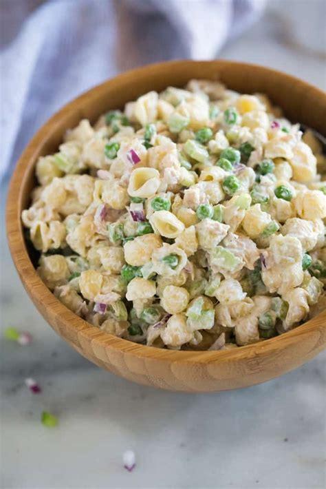 tuna pasta salad classic tuna pasta salad tastes better from scratch