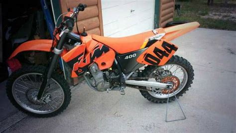 Electric Ktm For Sale 2001 Ktm 400 Electric Start For Sale On 2040 Motos