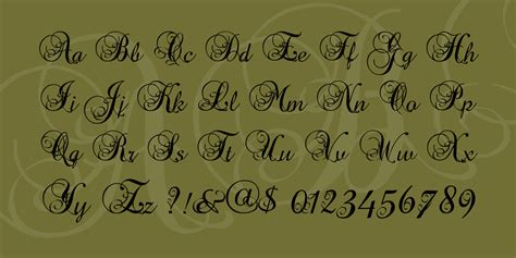 tattoo font precious precious font befonts com