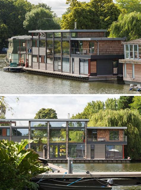 thames river boat houses 11 awesome exles of modern house boats this