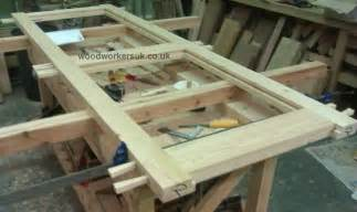 How To Build A Garage Door Woodwork How To Make A Wooden Garage Door Pdf Plans