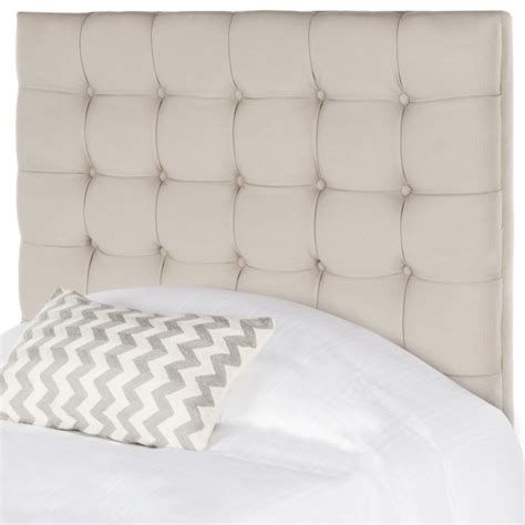 stand alone headboard safavieh lamar upholstered panel stand alone headboard