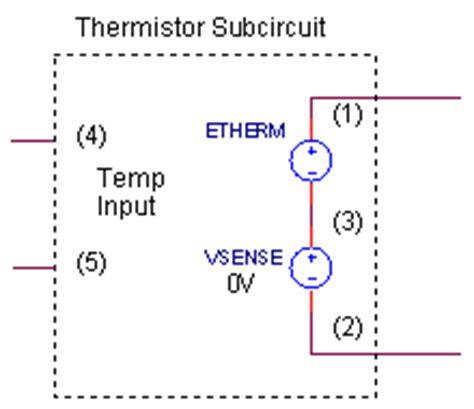 ntc thermistor model ntc thermistor model