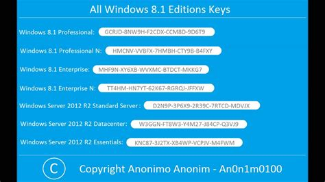 Lisensi Windows 8 1 Enterprise windows 8 1 keygen pro product key