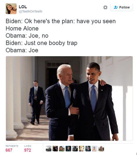 Biden Obama Trump Memes - 16 of the funniest joe biden and obama memes the poke