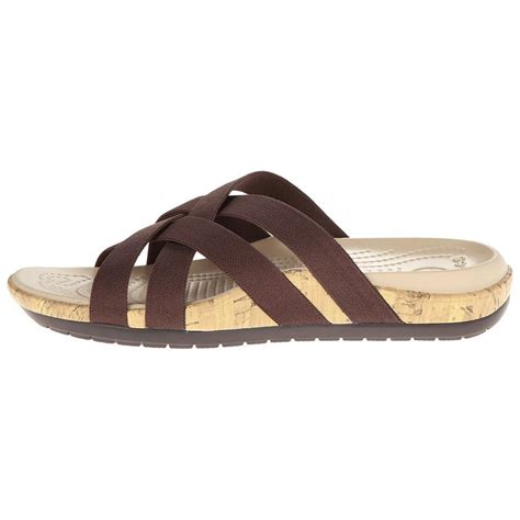 croc womens sandals crocs women s edie stretch sandal sandals wwathleticshoess
