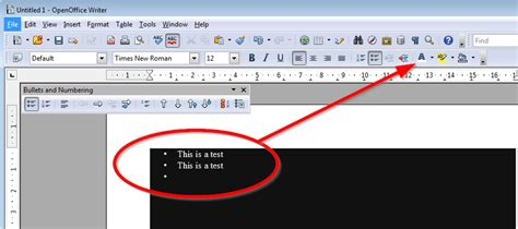 how to change bullets color in openoffice impress super