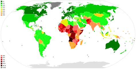 list of countries by infant mortality rate wikipedia