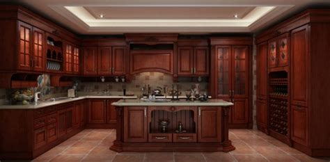 Solid Wood Kitchen Cabinet An Insight Into Solid Wood Kitchen Cabinets Founterior