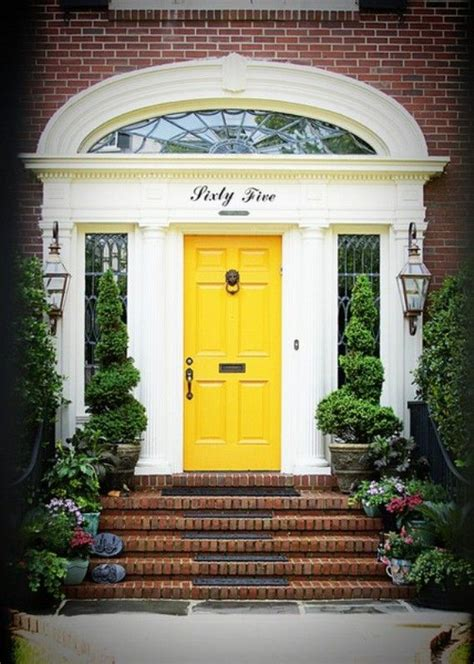 bright yellow door 106 best images about fabulous front doors on pinterest