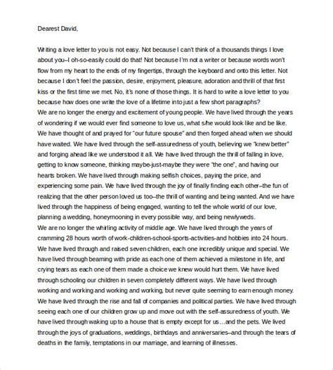 Support Letter From To Husband Letter To My Husband 11 Free Word Pdf Documents Free Premium Templates