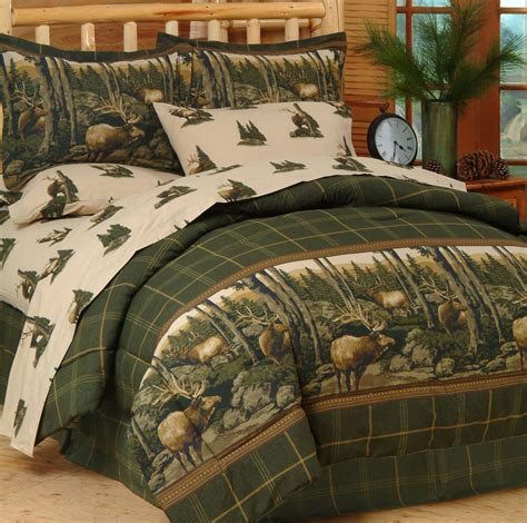 mountain bedding sets rocky mountain elk by blue ridge trading