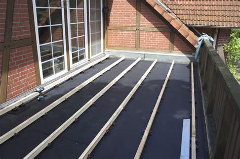 Terrassendielen Unterkonstruktion Balkon by Terrasse 1 Deryckere Handwerk Holz