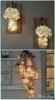 12 diy christmas mason jar lighting craft ideas picture