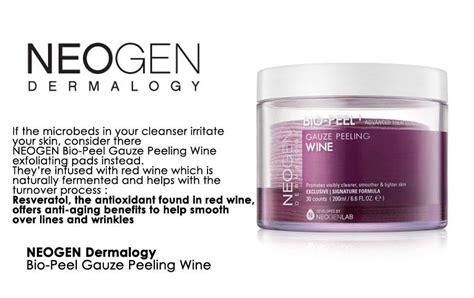 Neogen Biopeel Gauze Peeling Wine Neogen Bio Peel Gauze Peeling Wine 200ml 30pcs Cotton