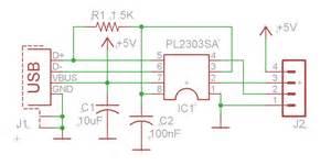 usb to serial converter using pl2303sa circuit wiring diagrams