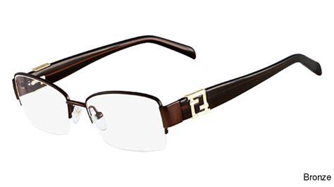 buy fendi eyewear 1016r semi rimless half frame