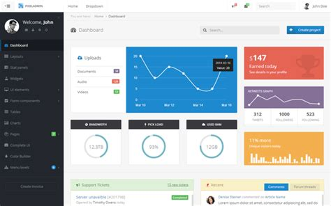 bootstrap themes crm 40 best bootstrap admin templates 30 designers