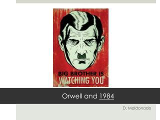 george orwell biography powerpoint ppt an introduction to 1984 by george orwell powerpoint