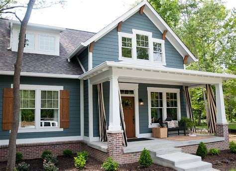 blue gray exterior paint colors