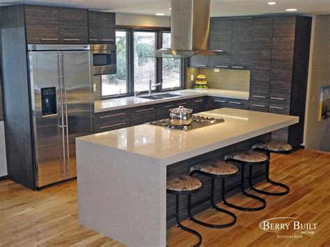 Modern Formica Countertops by Laminate Cabinetry With Quartz Counters Modern Kitchen