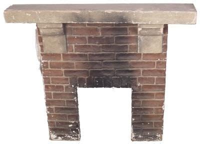 how to clean bricks on a fireplace