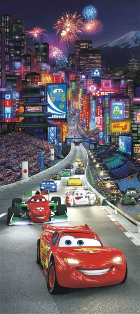 disney cars wall mural wall door wallpaper wall mural wallpaper disney cars 2 in china frirework photo 90 cm x 202 cm 35